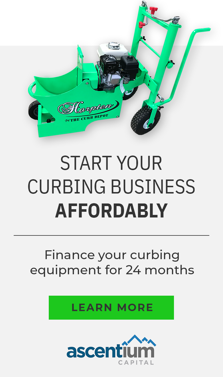 Curbing machine financing