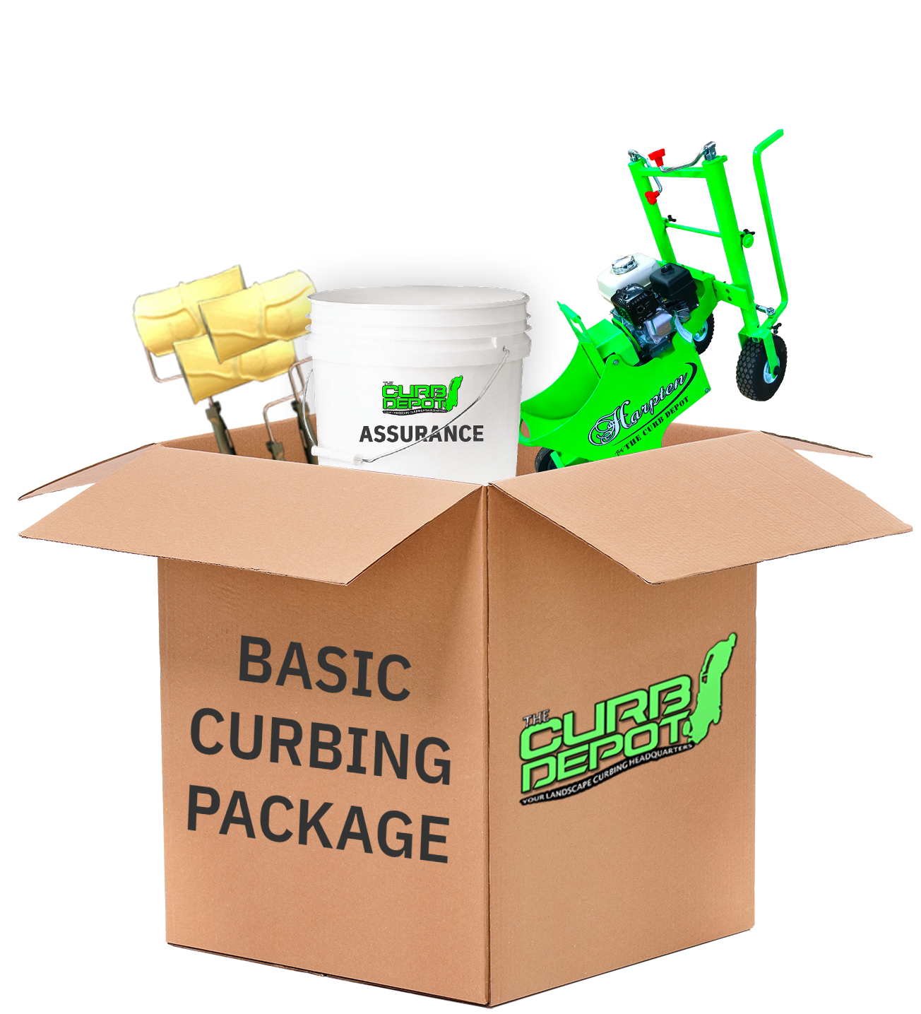Basic curbing package
