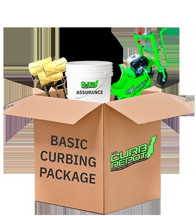Basic curbing package